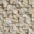 Travertin mozaic 3D Beige