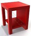 Noptiera metalica stil minimalist - model 1839