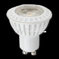 Bec Spot Led – 6W GU10 corp alb plastic Premium 38&deg