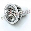 Bec Spot LED MR16 4*1W 220V lumina alba