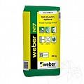 Glet de egalizare pe baza de ciment alb - Weber N17 - 20kg