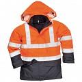 Jacheta de ploaie Bizflame HI VIS  protectie multipla