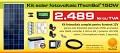 Kit (sistem) solar fotovoltaic ITechSol® 150W pentru ilumin