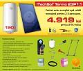 Pachet solar (kit) complet Casa Verde pentru apa calda menaj