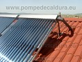 Panouri solare cu tuburi vidate