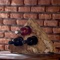 Suport sticle vin - Sandstone Mandras (4 gauri)