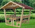 FOISOR din lemn cu masa si scaune (bancute) REXAL
