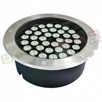 36W/220V 90° Lampa LED de exterior Incastrabila, lumina