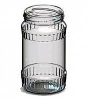 Borcane de sticla 0,370 L cu capac TO-66