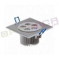 5W Lampa Spot LED patrata lumina calda – ajustabila