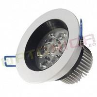 7W Lampa Spot LED rotunda lumina alba
