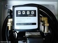 Pompa motorina 230v cu contor mecanic
