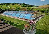 Acoperiri de piscina cu profile de aluminiu si policarbonat