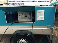 Aparat de hidrocuratare hidrosablare 500 bar apa rece calda