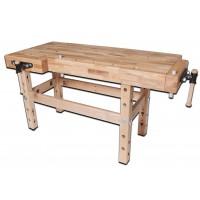 Banc de lemn pentru tamplarie scolari 1450x1450x500 mm Schoo