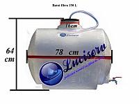 Butoi fibra sticla 150 L cu robinet
