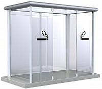 Cabina pentru fumatori Outdoor - Line