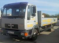 Camion MAN 9224 LC cu macara