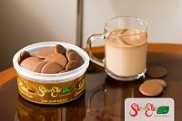Ciocolata BUTTONS belgiana, fara zahar, cu stevia