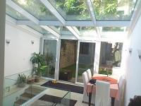 Constructii verande, sere din sticla, terase cu sticla, balc