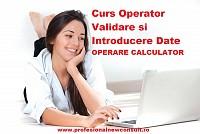 Curs operator calculator, introducere si validare date