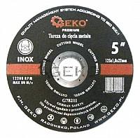 Disc abraziv 125x1 pentru metal/inox