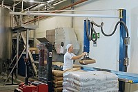 Dispozitive de ridicat cu vacuum pentru saci