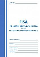 Fisa de instruire PSI (carnetul albastru)