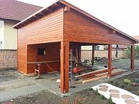 Garaj de lemn