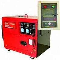 Generator diesel monofazat cu automatizare[max 6kw]