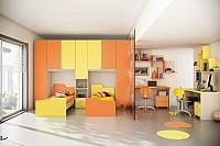 Camera de copii culoare Olmo alb