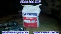 Hidroizolatii cu cimenturi osmotice Vandex