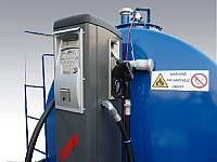 Statie incinta, rezervor motorina 9000 litri