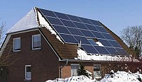 Kit fotovoltaic off-grid case, cabane