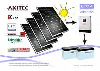 Kit sistem panouri fotovoltaice 4 panouri 260W