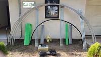 Kit solar metalic pentru legume si flori 6 m lungime /4 m