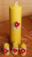 Lumanari decorative nunta