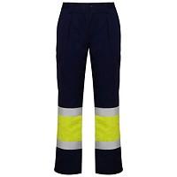Pantaloni lucru cu benzi reflectorizante