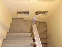 Placare trepte beton cu lemn stejar