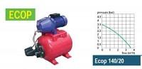 Pompa cu vas hidrofor: Ecop 140/20