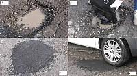Asfalt rece - Potholess
