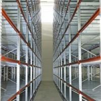 Raft metalic industrial cu depozitare manuala