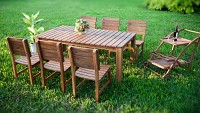 Set dining din lemn pentru restaurant/terasa ADELAIDE