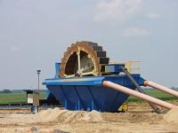 Site din poliuretan pentru recuperator de nisip
