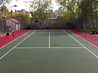 Suprafata acrilica tenis de camp