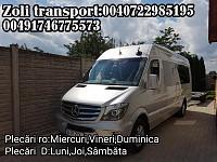 Transport persoane Romania Ungaria Austria Germania si retu