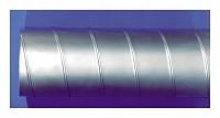 Tub metalic spiromatic din banda lata