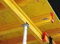 Grinzi lemn grinda profil H20 Doka - Cofraje