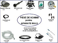 Piese aparate muls
