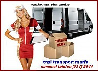 Transport marfa regim taxi